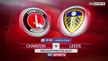 VIDEO Charlton Athletic 0 – 0 Leeds United (Championship) Highlights