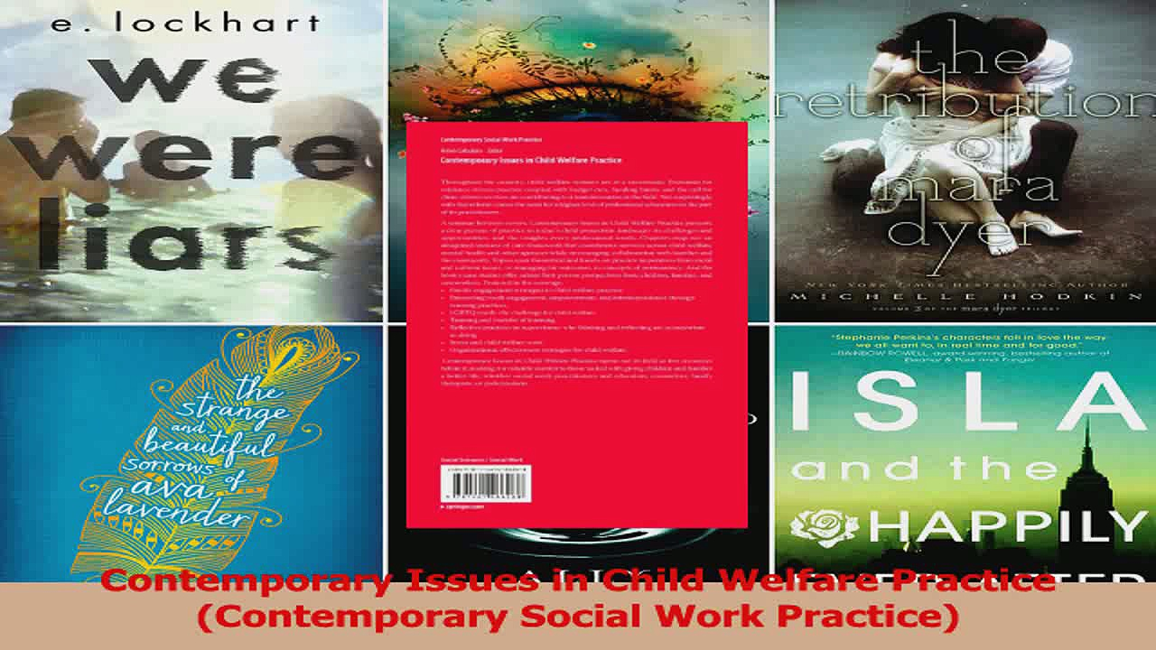 Contemporary Issues in Child Welfare Practice Contemporary Social Work Practice PDF