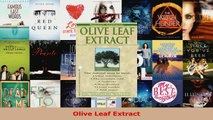 Read  Olive Leaf Extract EBooks Online