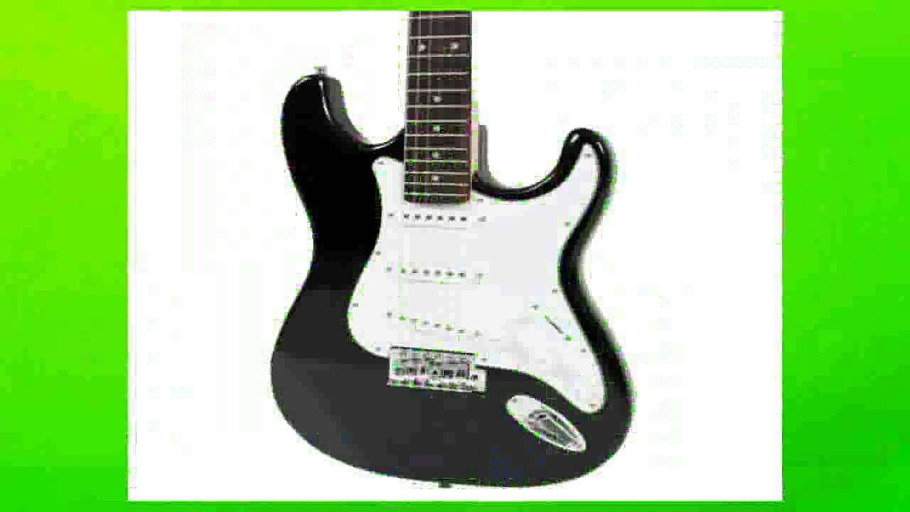 Best buy Electric Guitar  Full Size Black Electric Guitar with Amp Case and Accessories Pack Beginner Starter
