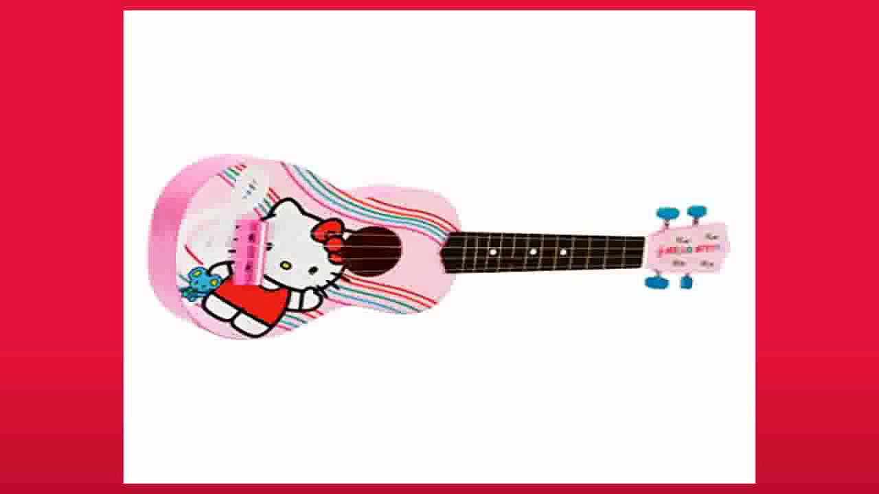 Best buy Acoustic Guitars  Hello Kitty 30 Acoustic Guitar  Pink 88099