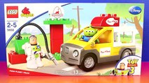Lego Duplo Disney Pixar Toy Story 3 pizza Planet Truck With Buzz Lightyear Sheriff Woody And Alien