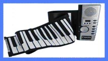 Best buy Digital Piano  THICK PADDED 61 KEYS Roll Up Foldable Piano Folding Electronic Piano w AC Power