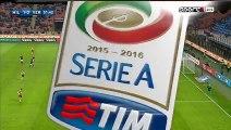 1-0 Bacca Goal Italy  Serie A - 13.12.2015, AC Milan 1-0 Hellas Verona