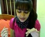 indian girl singing zra zra