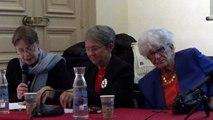 """Conférence """"Dernière journée des droits de l'Homme"""": Marie-Annick Bourdin, Haut Conseil à l'Egalité entre les femmes et les hommes."""
