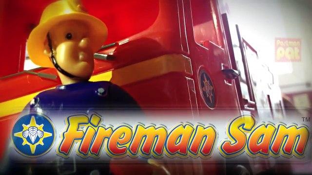 Sam le Pompier New Fireman Sam Episode with Toys Postman Pat Peppa Pig English Little Sunflowers