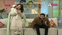 Ayeza and Danish Taimoor Daughter first time on media
