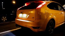 Ford Focus ST Turbo 3-door Hatchback Fire Spitting Exhaust Flames
