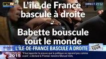 Elections Régionales 2015 : L'Ile de France bascule à gauche, Babette bouscule tout le monde