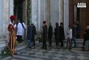 Il Papa apre la Porta Santa a S. Giovanni