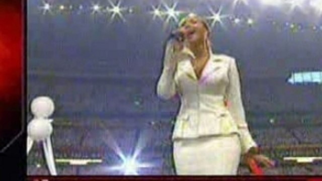 Beyonce Knowles-The Star Spangled Banner
