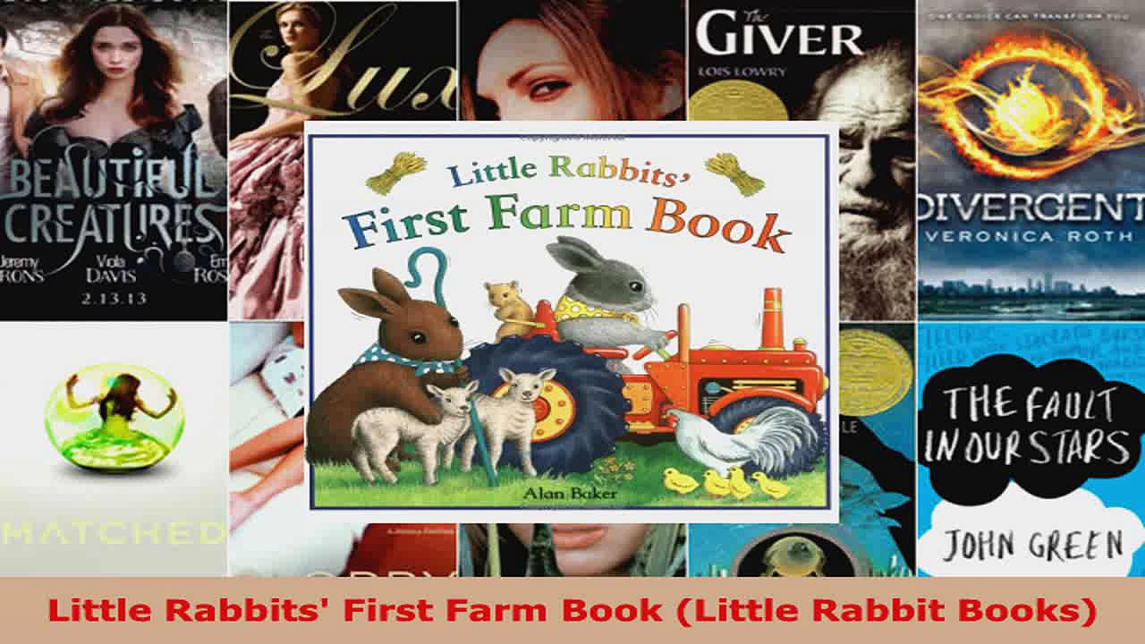 Download  Little Rabbits First Farm Book Little Rabbit Books Ebook Free