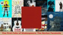 PDF Download  The First Folio of Shakespeare The Norton Facsimile PDF Online