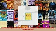 Download  Destructive Emotions A Scientific Dialogue with the Dalai Lama PDF Online