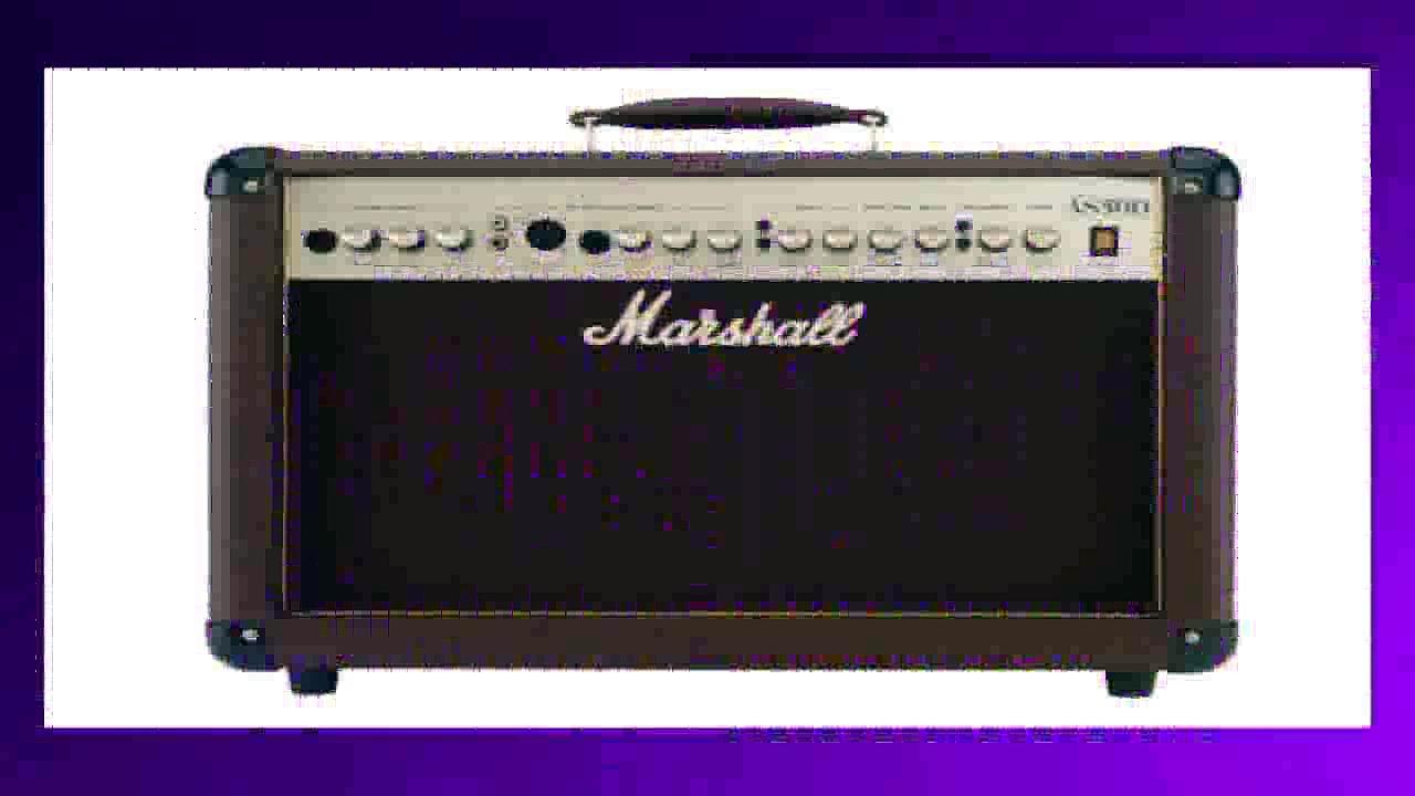 Best buy Guitar Amplifier  Marshall Acoustic Soloist AS50D 50 Watt Acoustic Guitar Amplifier with 2 Channels Digital