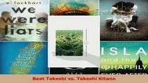Read  Beat Takeshi vs Takeshi Kitano PDF Online