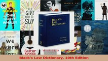 PDF Download  Blacks Law Dictionary 10th Edition PDF Full Ebook