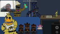 DEMON REACT: Five House Parties at Freddys A Five Nights at Freddys 4 Animation
