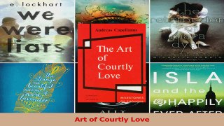 Art of Courtly Love Read Online