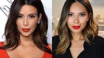 Kim Kardashian Inspired Hair Tutorial
