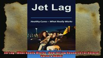 Jet Lag  What Really Works  New Jet Lag Research For Natural Cures  Relief