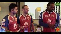 RCB Signature Cocktail - Royal Sweep - Starring Virat Kohli, Chris Gayle, AB de Villiers