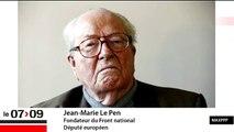 """Jean-Marie Le Pen : """"La victoire de l'UMPS est une victoire à la Pyrrhus"""""""