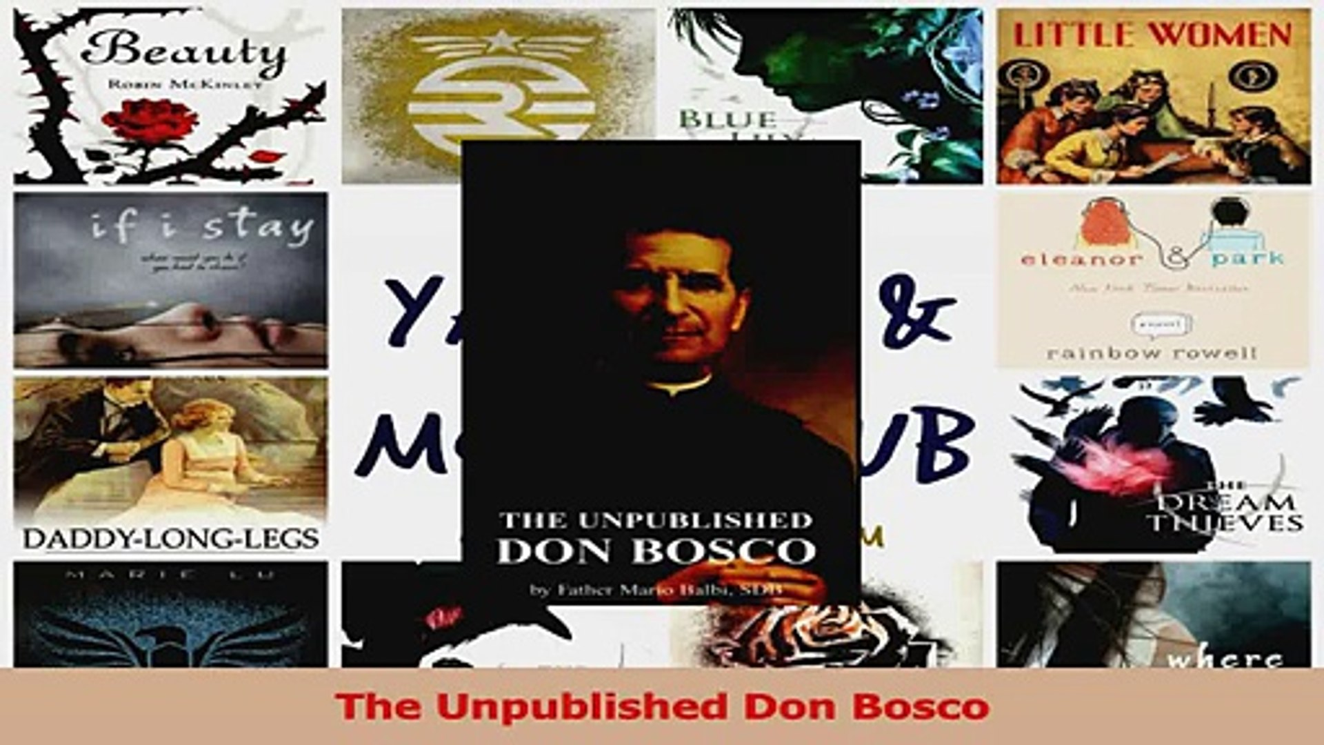 The Unpublished Don Bosco Download