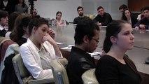 Le Préfet de région Pascal Mailhos intervient auprès des étudiants de la Faculté de Droit (module vie professionnelle)