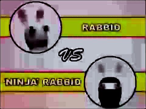 Mad rabbits Rabbids vs Ninja rabbids Creek Rabbit Ninja