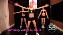 Power Girl Fitness - 20 Minute TOTAL BODY Fitness Workout for Girls (1)