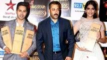 (VIDEO) Salman Khan ,Sonam Kapoor, Varun Dhawan Winners Of Big Star Entertainment Award 2015