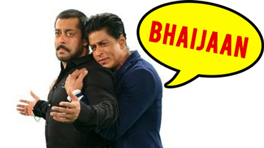 WOW ! Shahrukh Khan ADMITS Salman Khan Is Like My Brother
