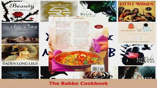 Read  The Babbo Cookbook PDF Free