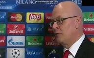 Arsenal vs Barcelona - Steve Bould Post-DRAW Interview - UEFA Champions League DRAW