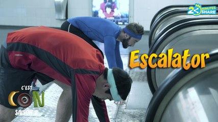 Une course d'escalator ! (C'est Con S2)