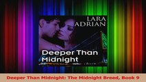 Download  Deeper Than Midnight The Midnight Breed Book 9 Ebook Free