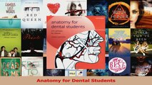 Anatomy for Dental Students Read Online