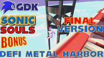 Sonic Souls Final version - Défi de Doky - Speedrun de Metal Harbor - TOUTES mes tentatives !