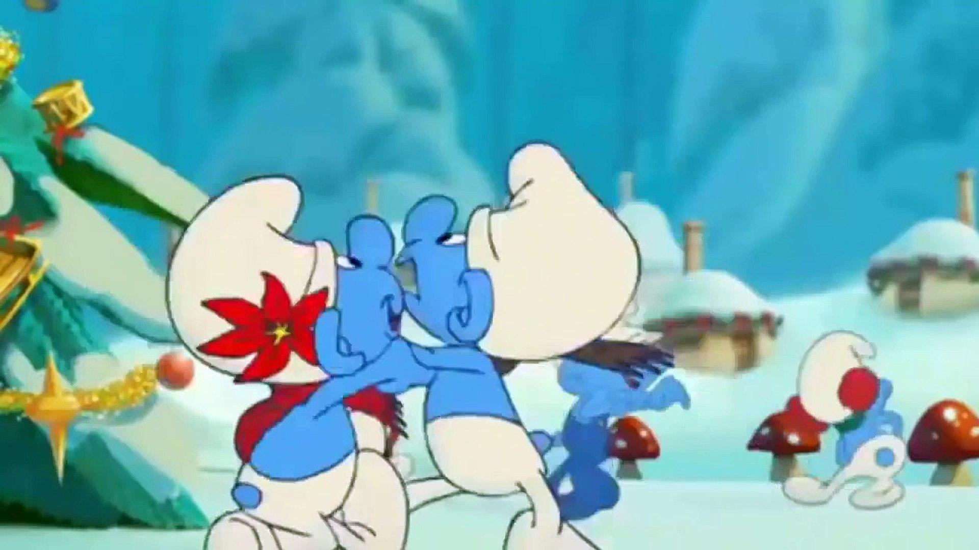 Smurfs Christmas.The Smurfs A Christmas Carol Movie 2011