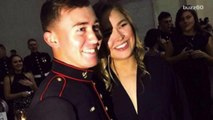 MMA fighter Ronda Rousey attends Marine Corp. Ball after loss to Holly Holm