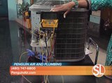 Penguin Air & Plumbing provides air conditioning, heating and plumbing services