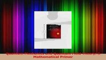 PDF Download  Quantum Mechanics and Quantum Field Theory A Mathematical Primer PDF Full Ebook