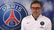 UEFA / 8e de finale PSG-Chelsea: réaction de Laurent Blanc