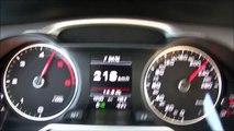 2015 Audi A4 2.0 TDI Avant (150 HP) Top Speed German Autobahn