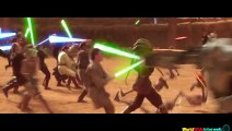 All 7 Star Wars Movies In 1 Trailer (Star Wars: The Phantom Clones Revenge A New Empire Of The Jedi Force Awakens)