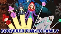 Finger Family | Sorcerer Finger Family | Finger Family Rhymes Sorcerers Apprentice