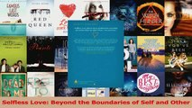 PDF Download  Selfless Love Beyond the Boundaries of Self and Other Read Online
