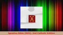 PDF Download] The Didache Bible: Ignatius Bible (RSV-2CE